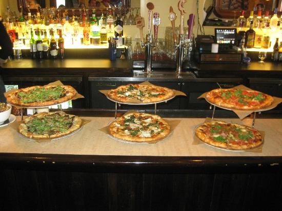 Artisan pizza at Kitchen Zinc - Picture of Taste of New Haven, New ...
