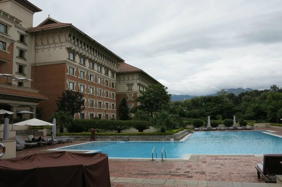 Hyatt Regency Kathmandu: vom Pool