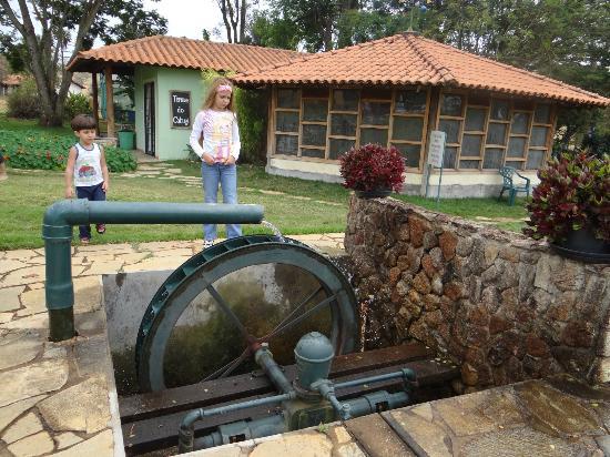 Piscina coberta sauna picture of hotel fazenda cabugi for Piscina coberta