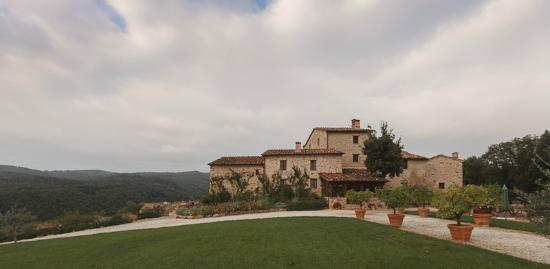 Villa Ferraia: Main building