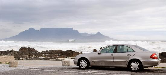 Newlands Homestay Bed & Breakfast : Mercedes 280E class - used for airport transfers & private personalised tours