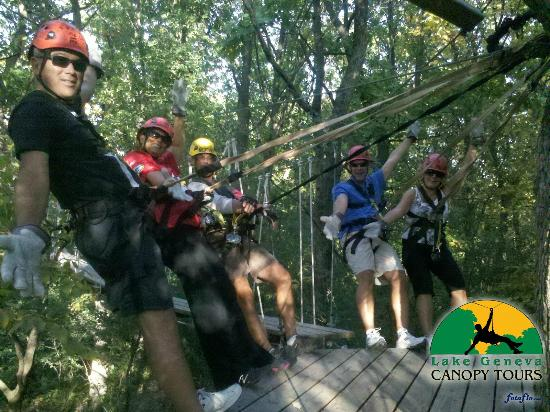 Lake Geneva Canopy Tours Tour