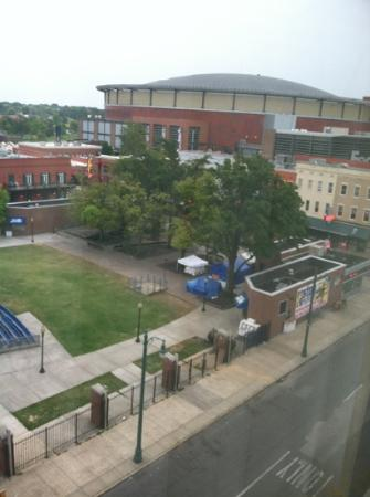 Hampton Inn & Suites Memphis - Beale Street: view from room of Beale