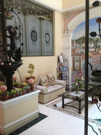 يوجينيا هوتل: sala de estar 