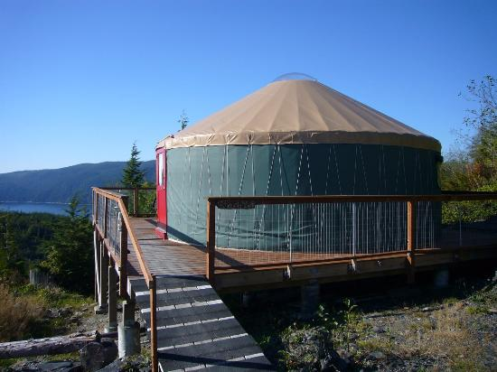 Soule Creek Lodge: The Yurt