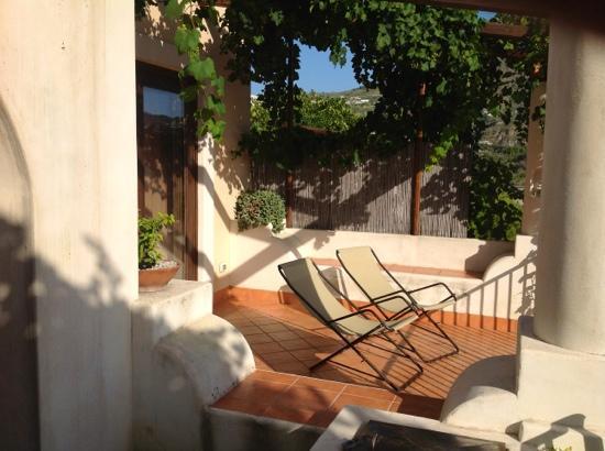 Villa Hermes: terrazzo
