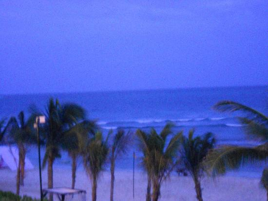 Secrets Silversands Riviera Cancun: View from our room at night
