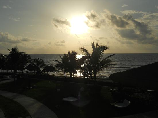 Secrets Silversands Riviera Cancun: View from our room 3215