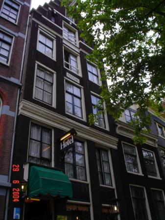 Hegra Hotel: Desde la calle Herengracht