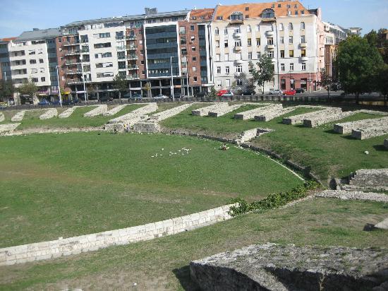 The Remainder Of The Amphitheatre Picture Of Aquincum