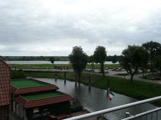 Hotel Hafen Hitzacker: Blick vom Balkon