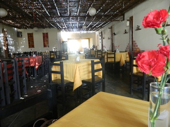 El Alba: interior do restaurante