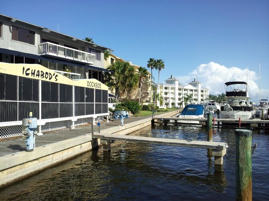 Ichabod's Dockside - come by water or land