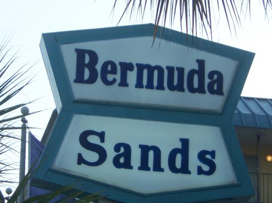 Bermuda Sands Motel: this is where we stayed