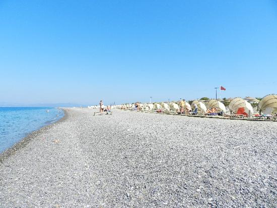 Kipriotis Village Resort: La spiaggia del villaggio kipriotis