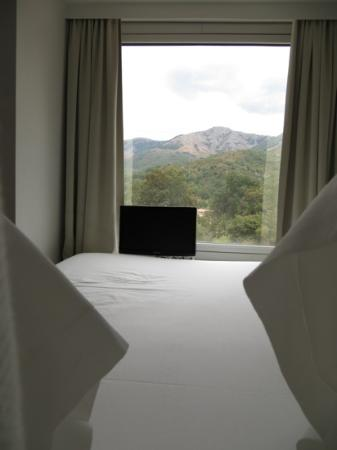 Boutique Hotel Artemisia: view from bed