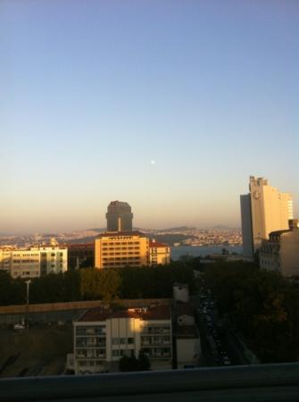 Rixos Taksim Istanbul: great view