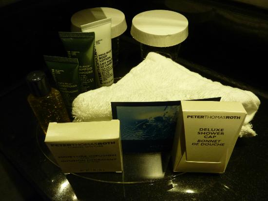 Hilton London Kensington: products you get in your bathroom