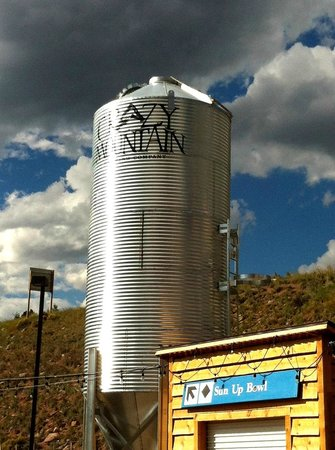 Crazy Mountain Brewing Company : Crazy Mountain grain silo