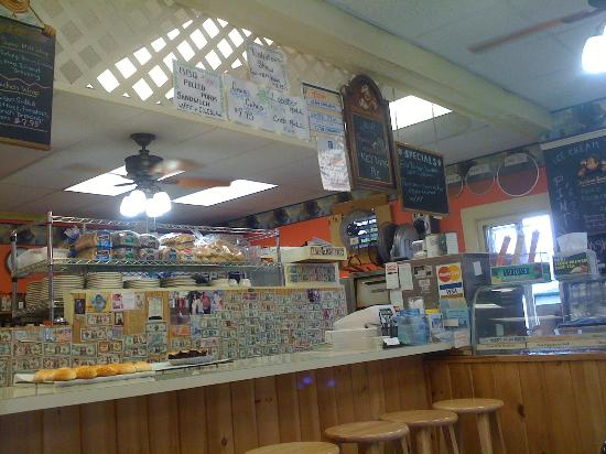 Quietside Cafe and Ice Cream Shop : Quietside Cafe