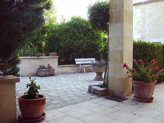 Chateau La Closerie De Fronsac: la terrasse