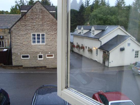 The Green Dragon Inn: From bedroom window (best room to the left in annex)