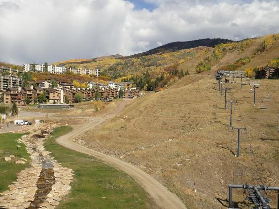 Sheraton Steamboat Resort: The ski slopes turned bike trails
