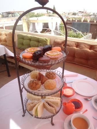 Maison MK: Afternoon tea
