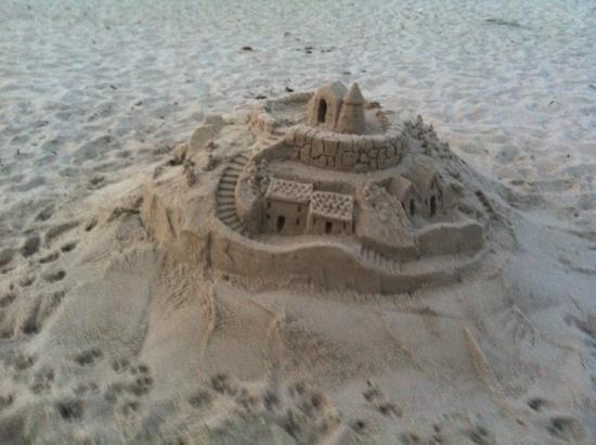Inn at Canal Square : nice sand castle at the beach