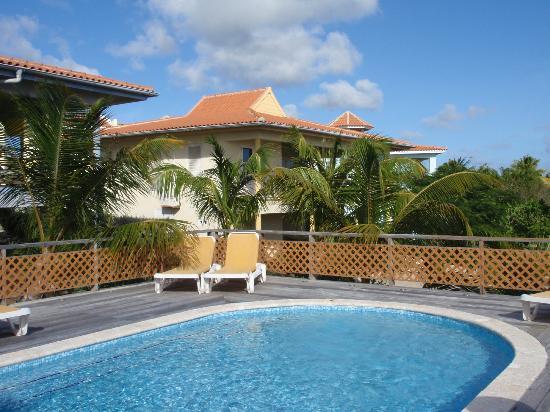 Caribbean Club Bonaire : Poolbereich