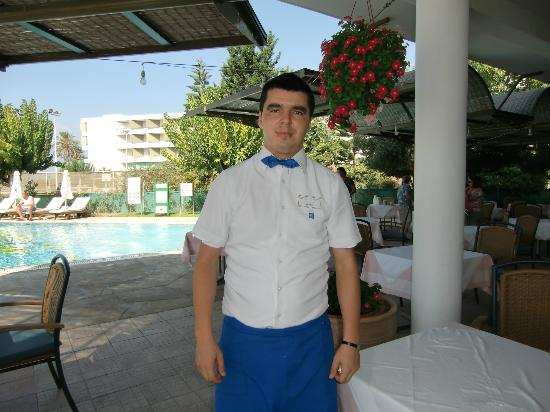 Constantinou Bros Athena Royal Beach Hotel: The star guy Vasilis