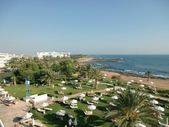 Constantinou Bros Athena Royal Beach Hotel : View from balcony room 2257