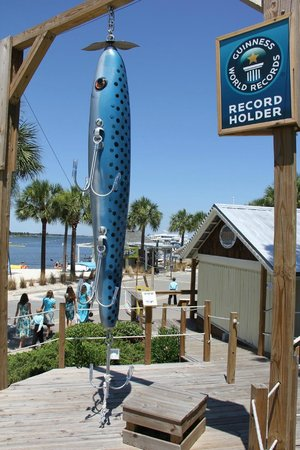 World S Largest Fishing Lure Sandestin All You Need To