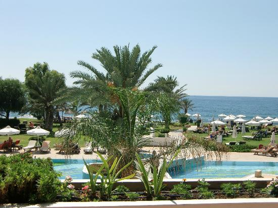Constantinou Bros Athena Royal Beach Hotel: View from terrace