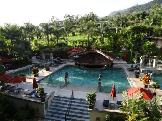 The Royal Corin Thermal Water Spa & Resort: Piscina de aguas termales