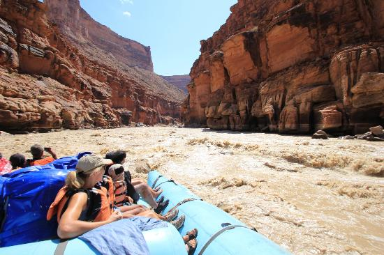 Grand Canyon Whitewater: First day on the river