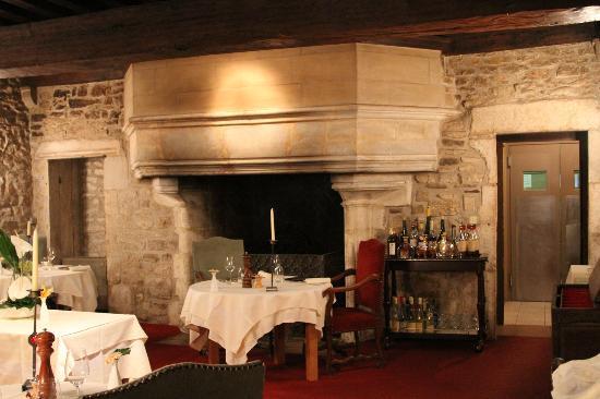 Château d'Igé : La salle à manger