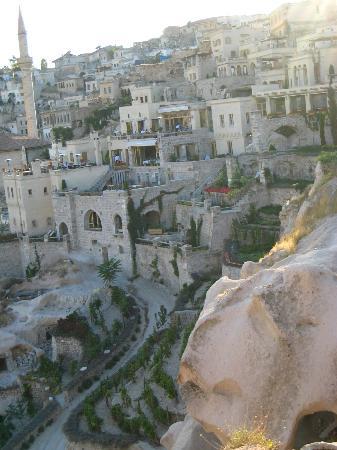 argos in Cappadocia: view of hotel