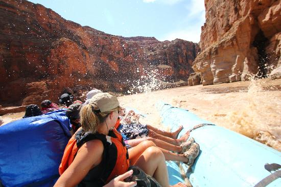 Grand Canyon Whitewater: Minor rapids