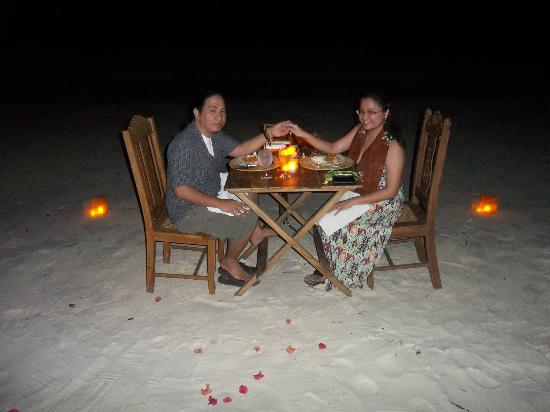Amarela Resort: The perfect dinner setting :)
