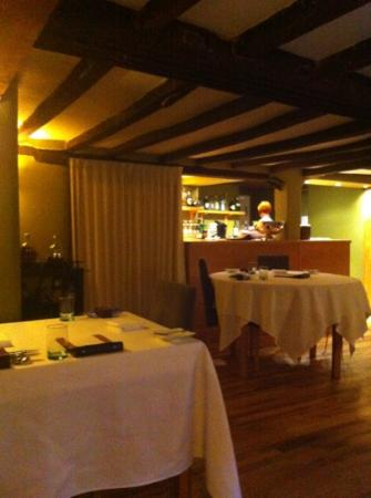 Dining Room: the cosy ambiance