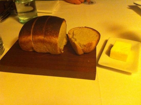Dining Room: delicious homemade sourdough