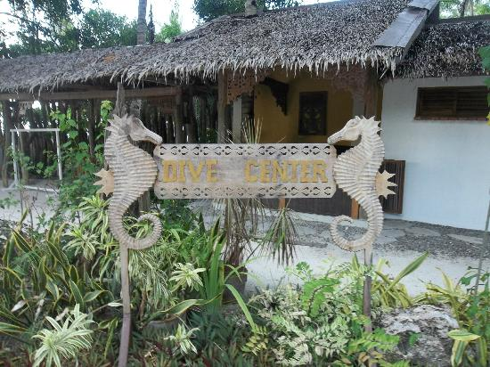 Amarela Resort: In-house dive shop