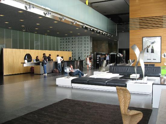 Hall picture of ac hotel barcelona forum by marriott - Ac hotels barcelona ...