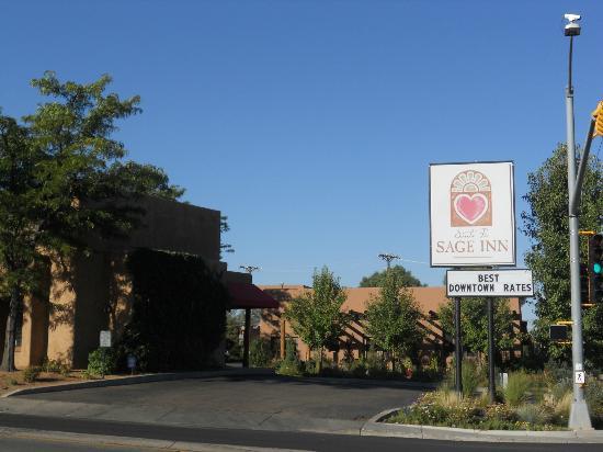 Santa Fe Sage Inn: Entrance