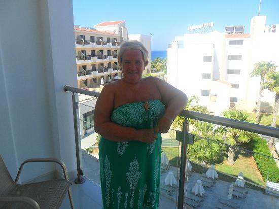 Anastasia Beach Hotel : View from balcony