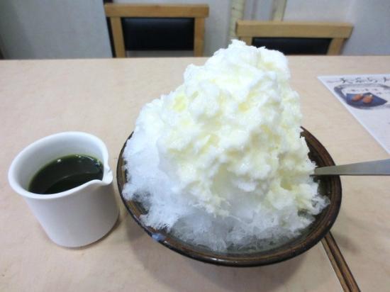 Furuichi Nakaten: 宇治ミルクかき氷