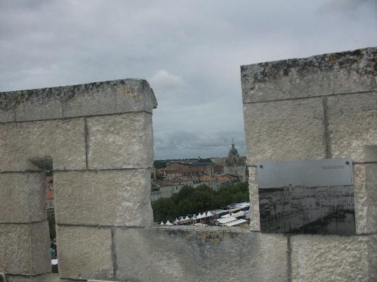 Tour Saint-Nicolas : Vista de la Torre del Reloj desde San Nicolás