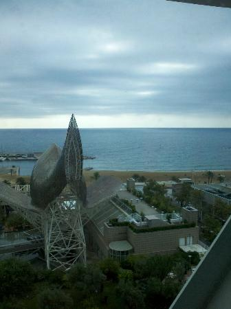 Hotel Arts Barcelona : View from room 1016