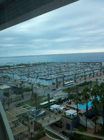 Hotel Arts Barcelona: View from room 1016